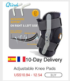 Adjustable Breathable Knee Brace Orthopedic Stabilizer Knee Pads Support Guard with Inner Flexible Hinge Sports Knee Pads
