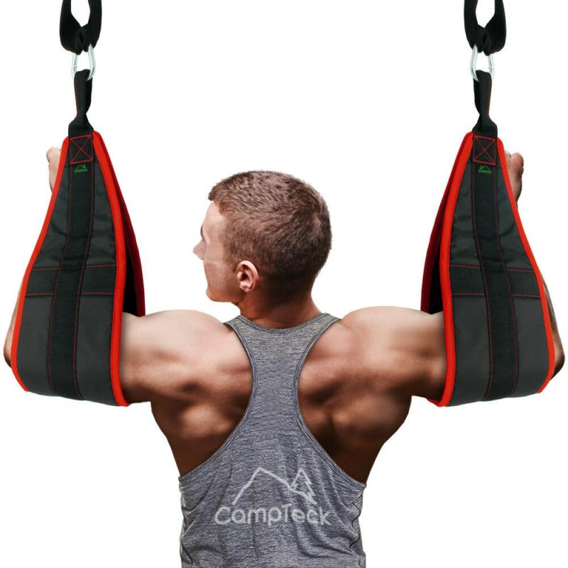 Fitness AB Sling Straps Abdominal Heavy Duty Muscle Training Support Hanging Belt Crunch Gym Leg Raise Pull Up Home Gym
