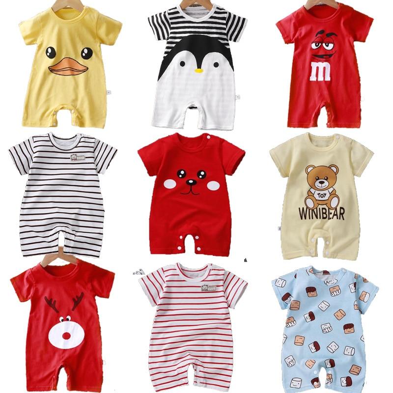 2020 Cute animals Spring Baby romper newborn baby clothes Kids long sleeve underwear cotton boys Clothes Baby girls romper