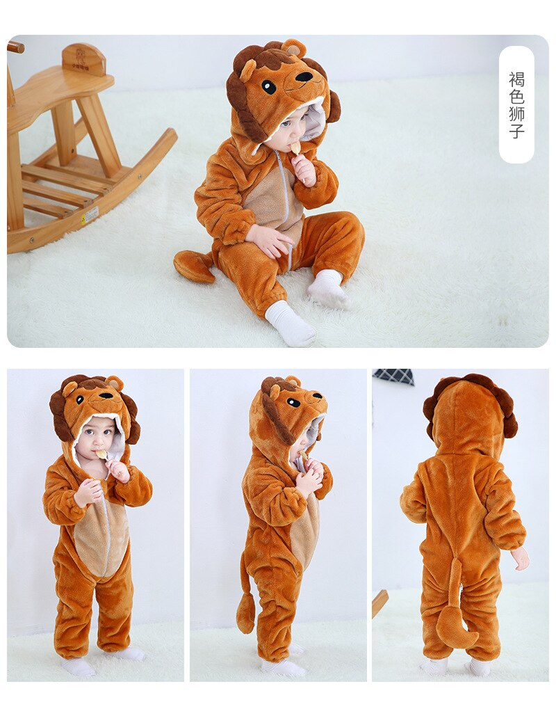 Baby Boy Girls Animal Cosplay Rompers Toddler Carnival Halloween Outfits Boys Unicorn Costume For Girls Jumpsuits Infant Clothes