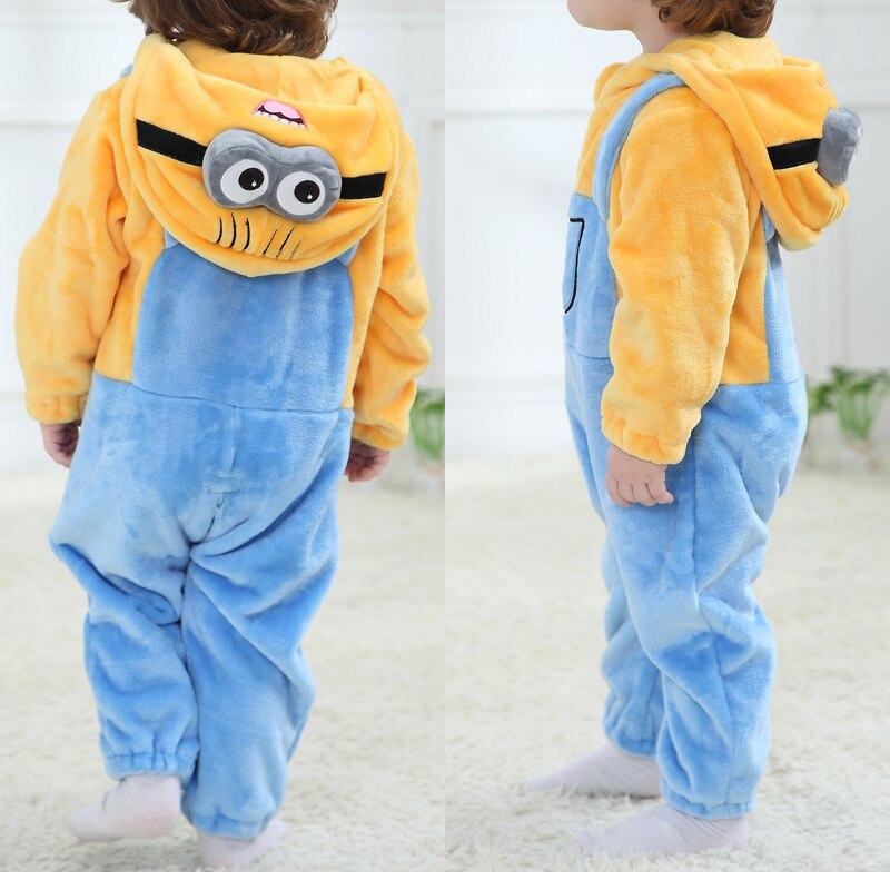 Cute Baby rompers boys girls clothes new born baby costume jumpsuit Infant onesie winter monkey pajamas ropa bebe recem nascido