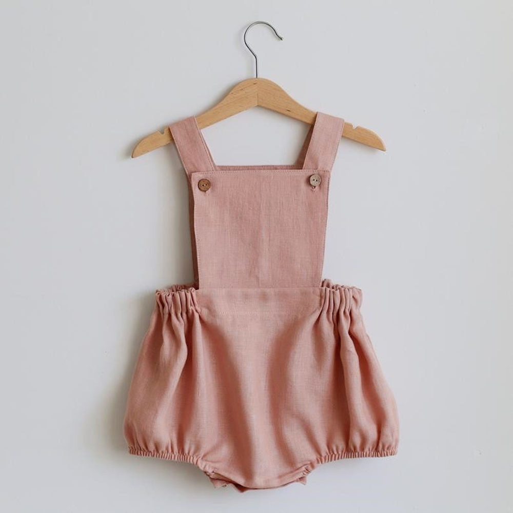 Baby Boys Romper Spring Fall Linen Cotton Unisex Newborn Clothes New Born Baby One-pieces Girls Jumpsuit Baby Boy Clothes Outfit