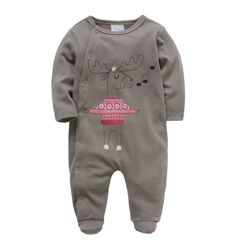 Infant Long Sleeve Baby Boys Girls Clothes New Baby Romper Cotton Newborn Body Suit Baby Pajama Boys Animal Cartoon Jumpsuits