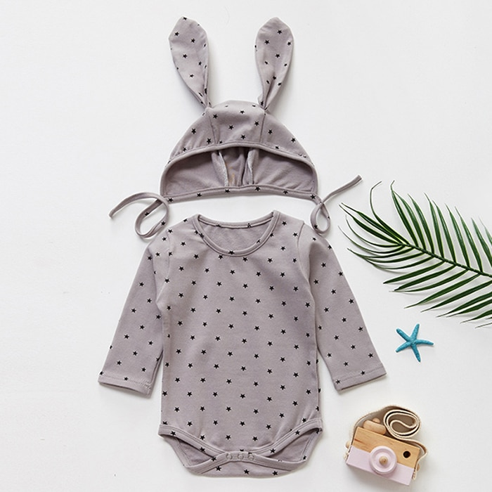 Baby Girl Romper Long Sleeve Clothes For Girls Lace Newborn Baby Rompers For Girls Jumpsuit 100% Cotton Baby Boys Romper