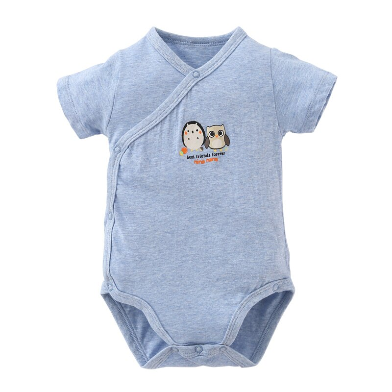 Summer Cute New baby Kids Clothes Baby Rompers Cotton Short sleeve Kimono  Baby Boys and Girls Clothing