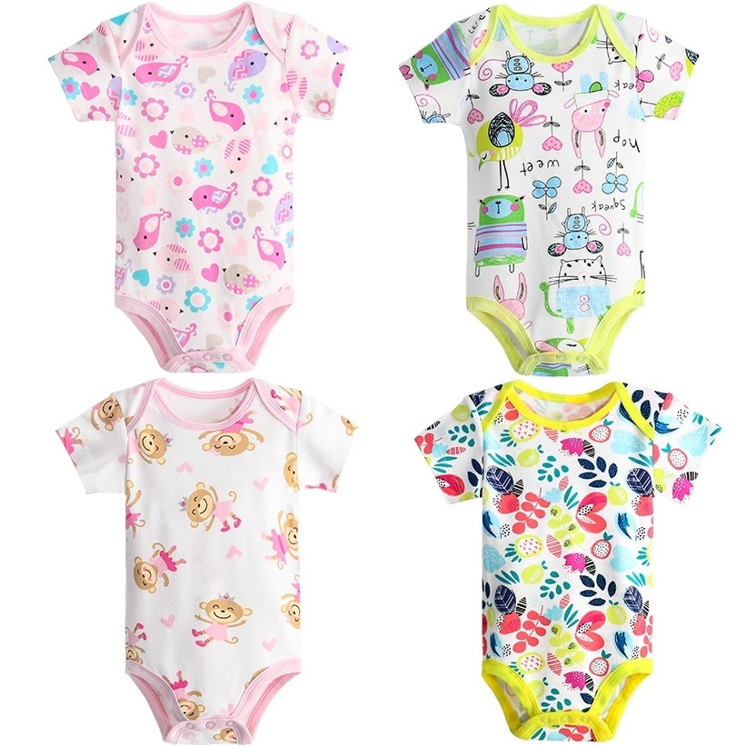Hooyi Baby Boy Clothes 100% Cotton Pure Solid Newborn Bodysuits Turtleneck Premature Clothing Shirts Tops 0 1 2 3 Years PJS Soft