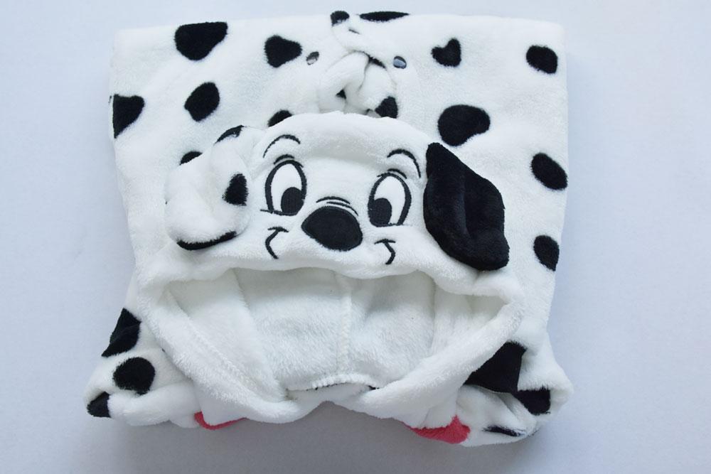 Baby Clothes Romper Dalmatian Cartoon Kigurumis Onesie Kids Boy Girl Jumpsuit Animal Dog Costume Toddler Warm Newborn  Playsuit
