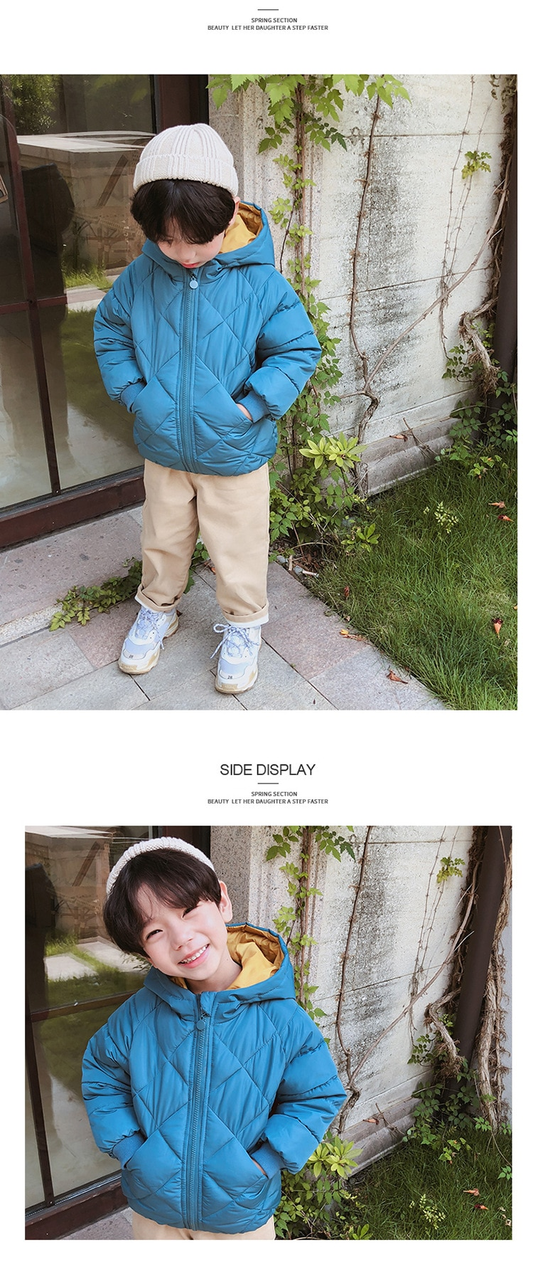 Kids Toddler Boys Winter parkas Jackets For Children Outerwear Clothing cotton velvet Baby girl hoodies coat Clothes