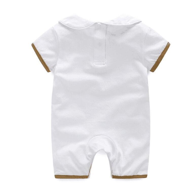 New Summer fashion 3 PCS Newborn baby clothes unisex Cotton Short sleeve infant boy girl Romper and hat Bibs sets 0-18 months