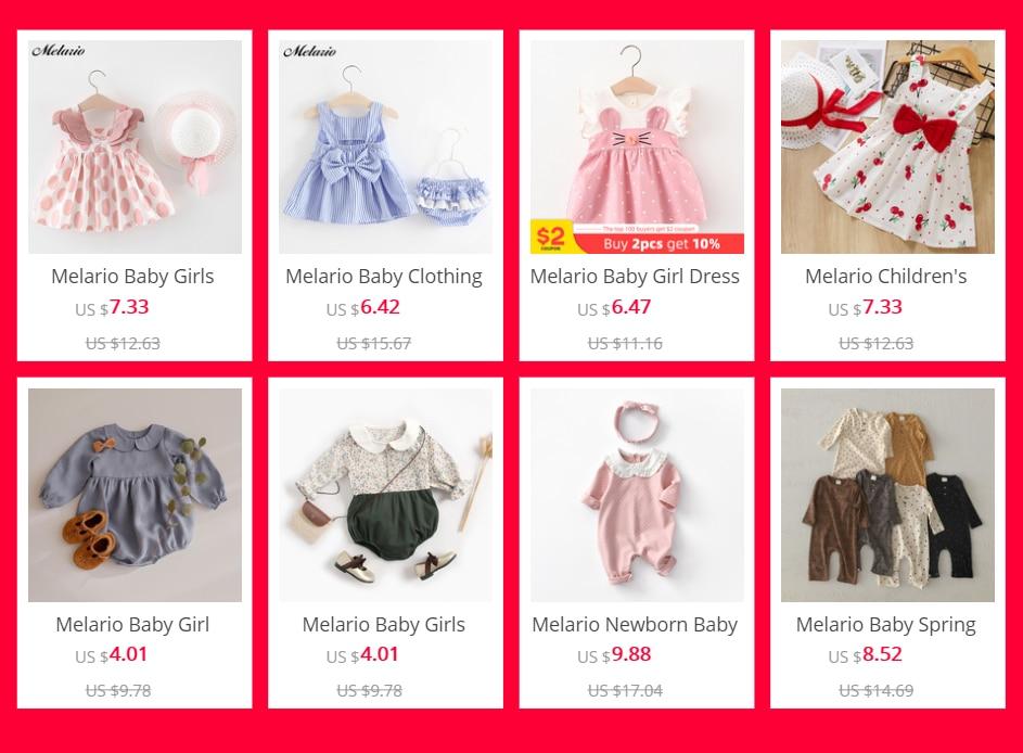 Melario Baby Girl Dress Spring Baby Girl Princess Clothes Cute Girls Long Sleeve T-shirt Tops Cartoon Giraffe Dress 2pcs Suit