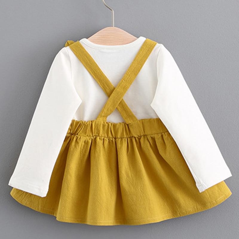 Melario Newborn Baby Dress Autumn Children Clothing Elegant Plaid Heart Pattern Princess Dresses for Girl Kids Dress Vestidos