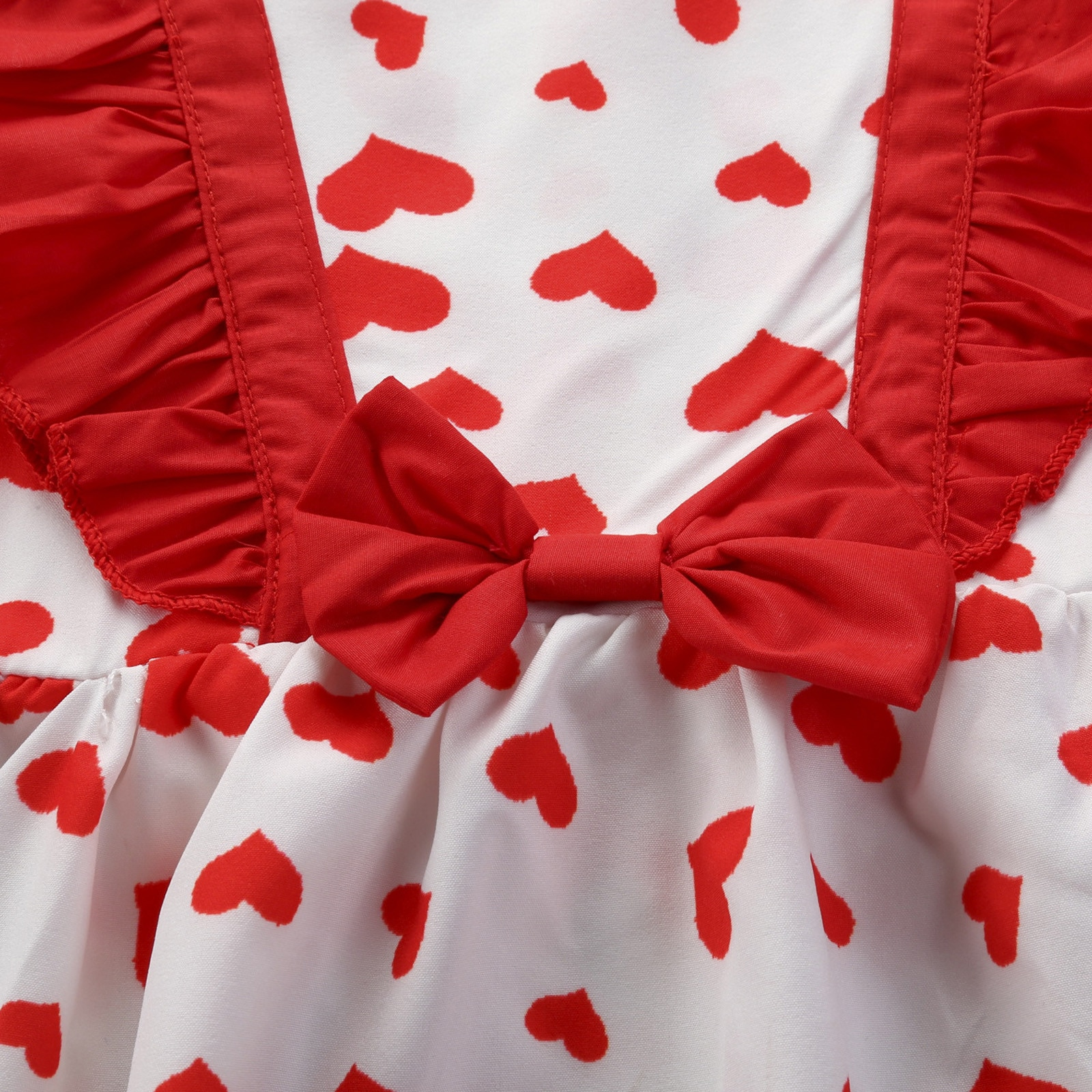 Toddler Kids Baby Girls Sleeveless Bow Love Print Dress Clothes платье для девочки Summer Baby Girl Dress ropa bebe niña