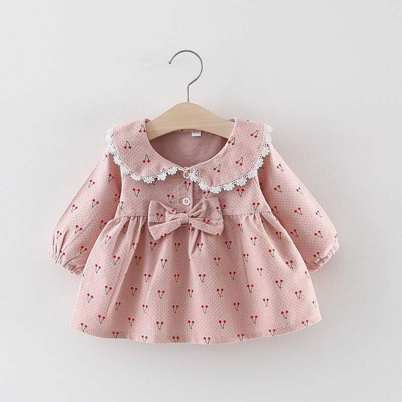 New Autumn Winter Baby Girls Clothes Long Sleeve Princess Girls Dress Ball of Yarn Kids Clothes Children Party Princess Dresses