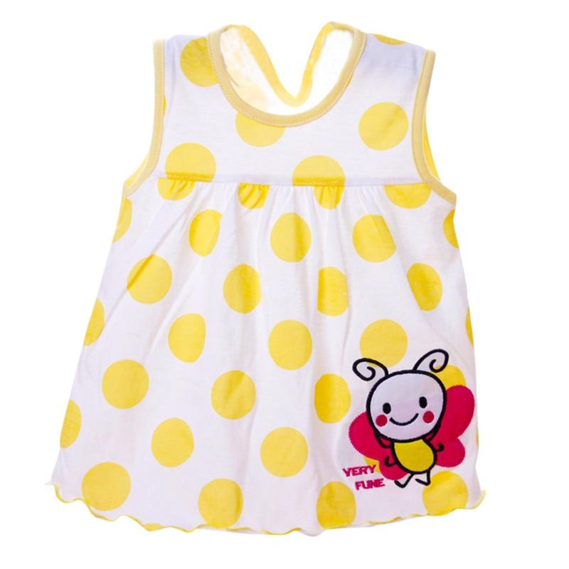 Summer Baby Dress Beautiful Fashion Girls Infant Princess  A-Line Cotton Dresses Children Soft Clothes Kids Clothing