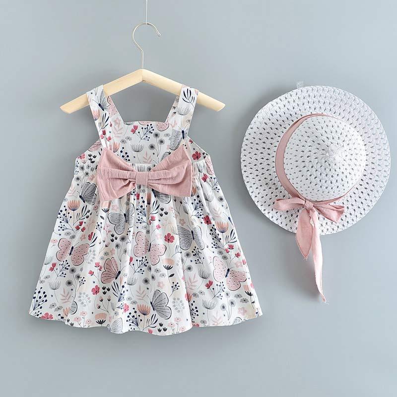 Bear Leader Toddler Baby Lovely Dress 2021 New Summer Newborn Girls Bunny Dresses Party Costumes Children Infant Denim Clothing