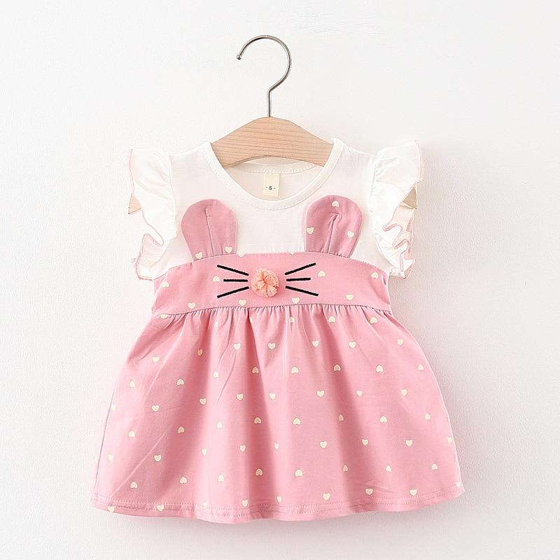 Melario Summer Baby Dress Fashion Girls Infant Princess Dresses A-Line Cartoon Children Clothes Kids Clothing Dress