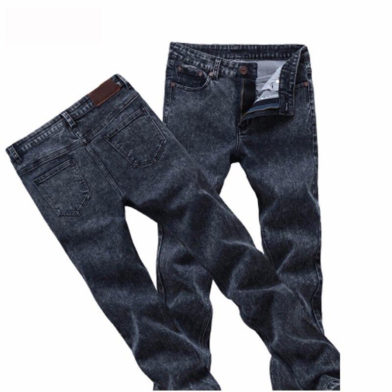 2021 New Men's Skinny Jeans Gray/blue Denim Jeans New Fashion Men Pencil Pants Slim Jeans Men Skinny Long Jeans