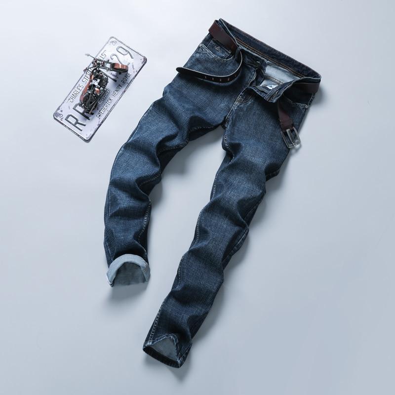 2020 new Brand Skinny jeans men Slim Fit Denim Joggers Stretch Male Jean Pencil Pants Blue Men's jeans fashion Casual Hombre