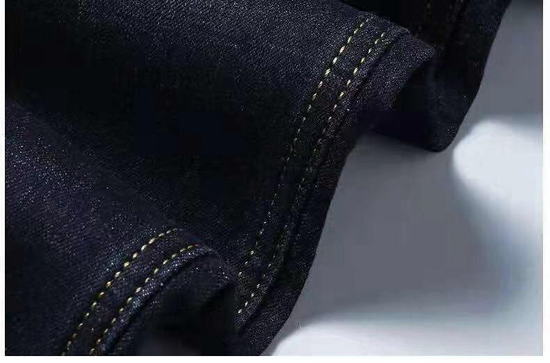 UAICESTAR Men Brand Winter Jeans Flannel Stretch High Quality Jean Trousers Men Casual Fashion Pants Men 2020 Spring Men's Pants
