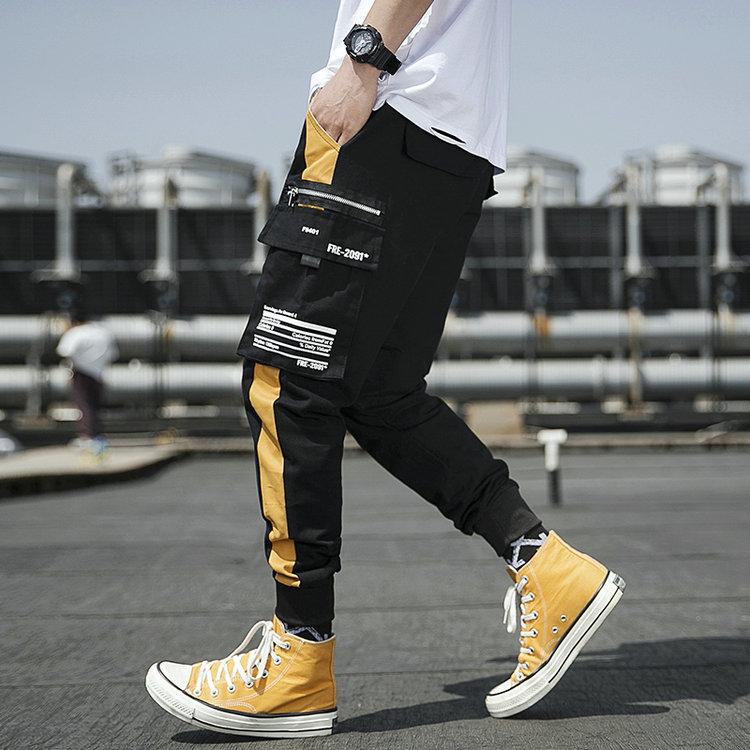 Streetwear Joggers Men Spring Autumn Fashion Sweatpants Men's pants Casual Slim Ankle-length Men Trousers Women's Pants