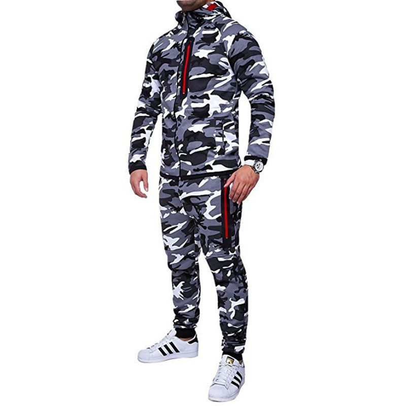 New Men's Casual Camo Pants Cotton Chino Jogger Pants Man Fitted Trace Twill Pants Male Camouflage Trousers 3XL