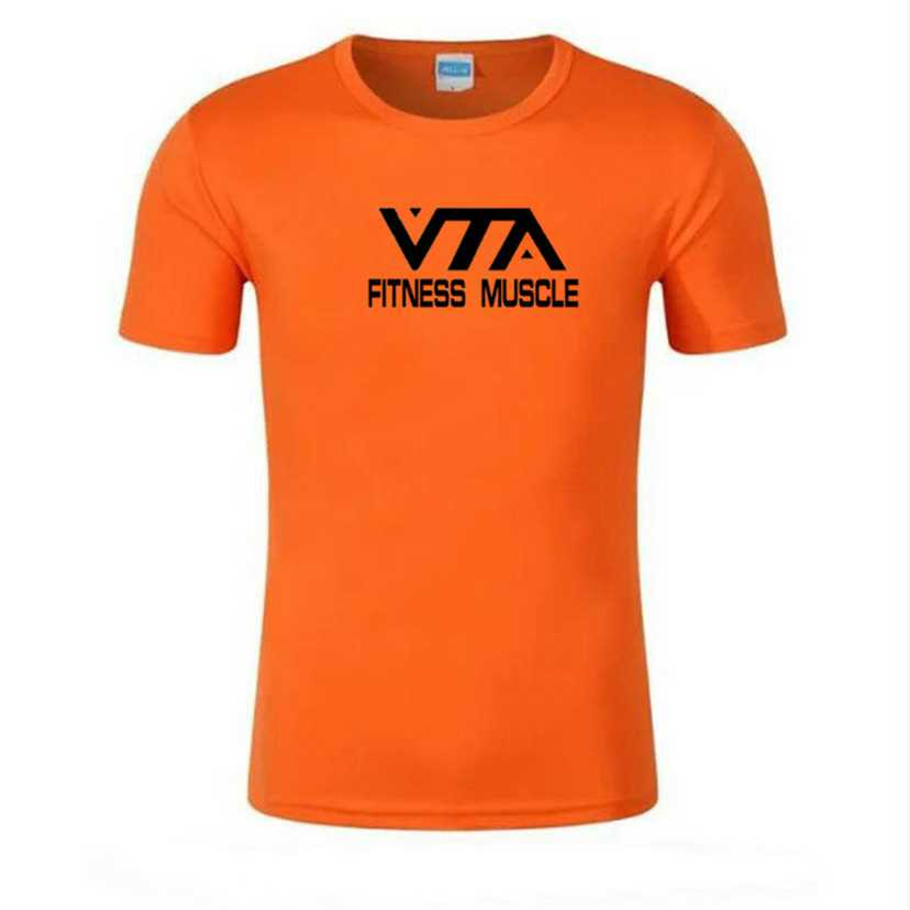 Summer Running T Shirt Men Breathable Sports Quick Drying Elastic Exercise Fitness Muscle Gym Short Sleeve Super Light Tee