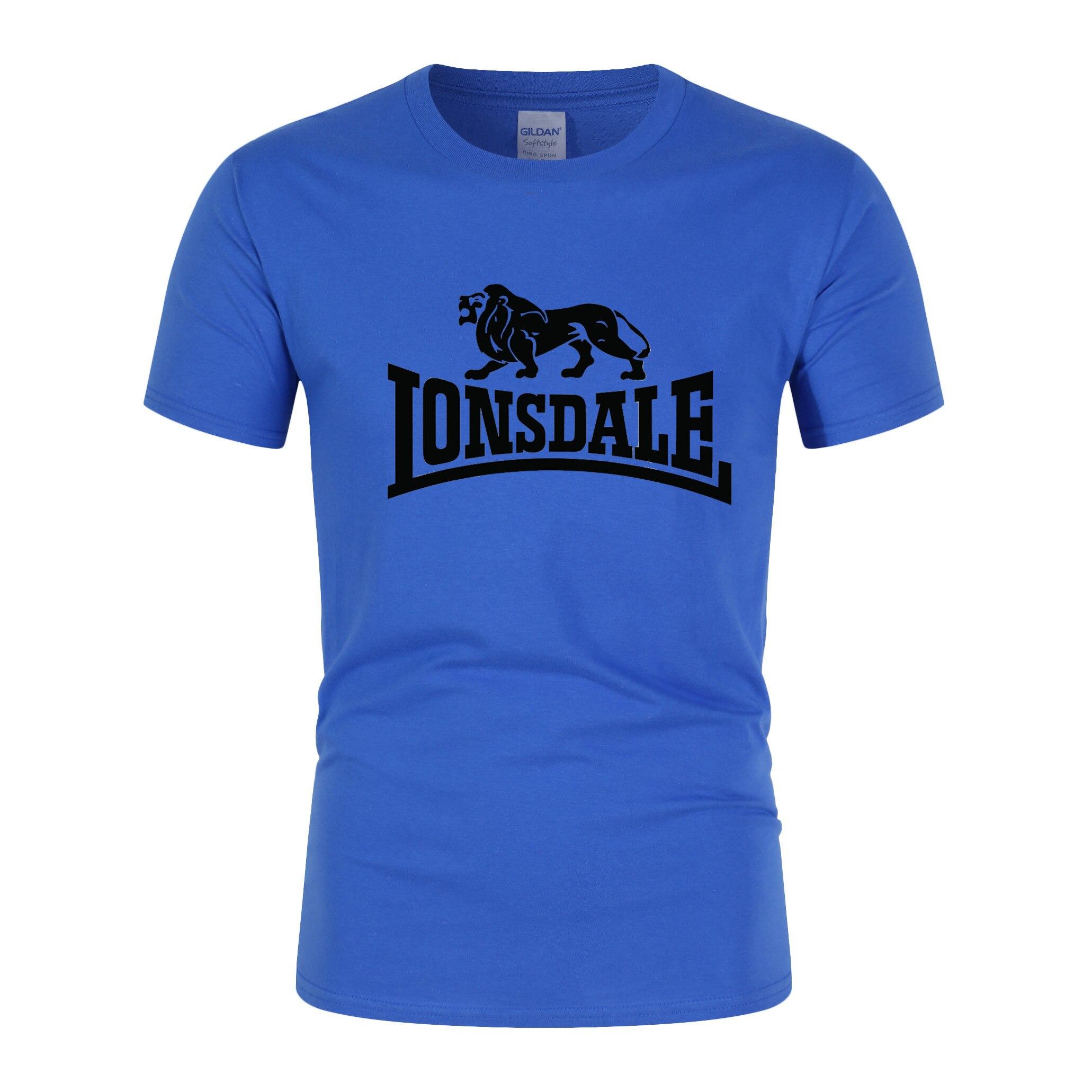 Summer Men's Brand Top T-Shirt Cotton Short Sleeve Casual T-Shirt Running Sports Breathable Fitness Wear