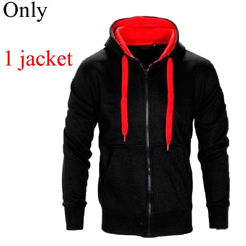 Men Causal Hoodies Sets Solid Color Jacket+Pants 2Pcs Tracksuit Men's Sportwear Set Hoodies Sweatshirt & Pant Track Suit MY180