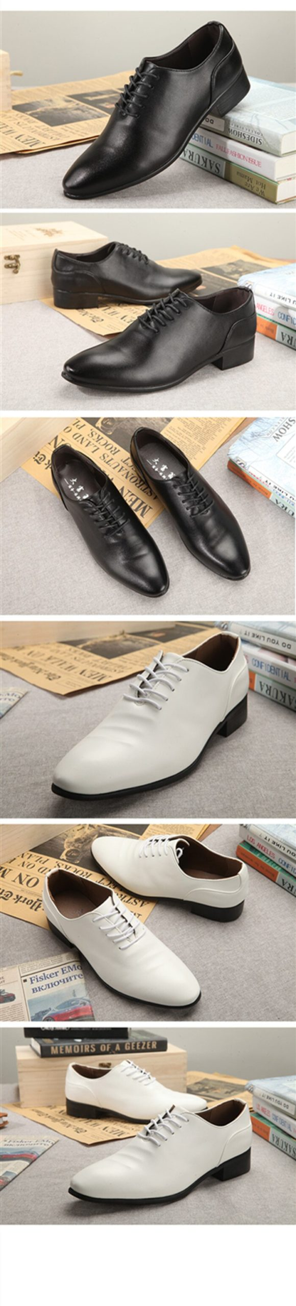 2020 New Patent Leather Men's Dress Shoes Handmade Office Business Wedding Blue Black Luxury Lace Up Formal Oxfords Mens Shoes