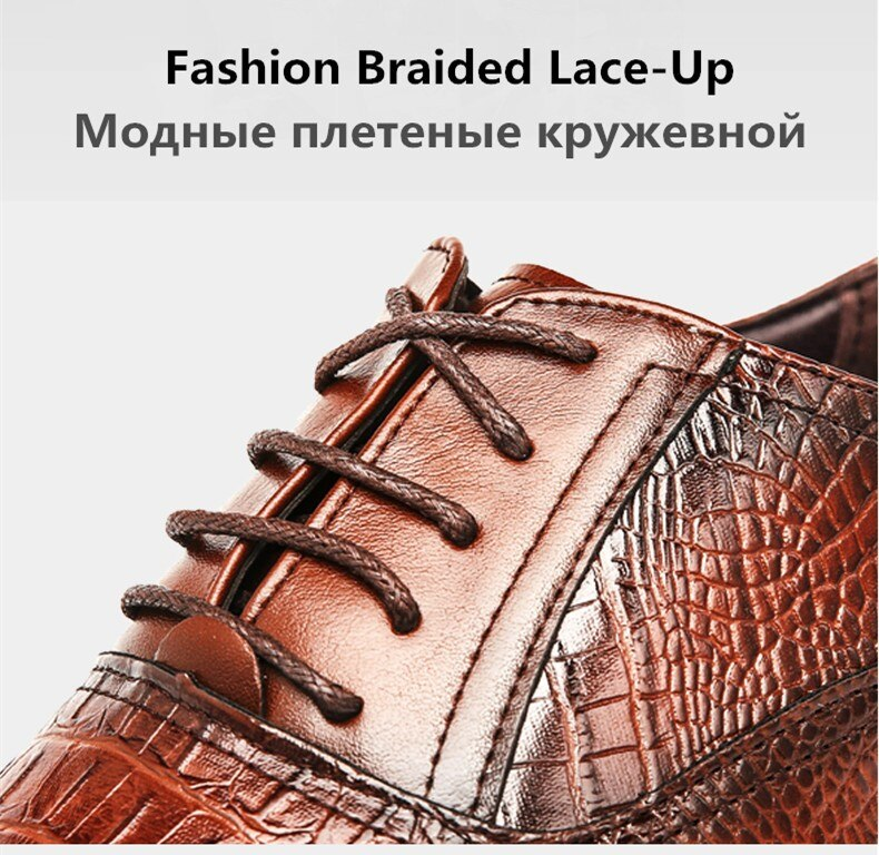 New Shoes Men's Brogue Shoes High Quality Lace-up Business Breathable Formal Shoes High Quality Brand Luxury Dress Shoes 38-48