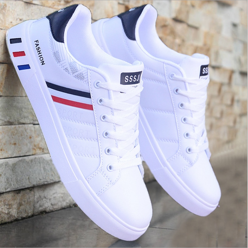 2020 Men Shoes Flat Summer Breathable Shoes Light Casual Shoes Male Tenis Masculino Sneakers White Business Travel Shoees