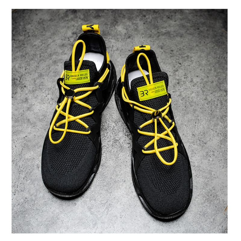 New Men's Lightweight Casual Sneakers Men Running Shoes Shockproof Breathable Men's Sports Shoes Increased Walking Fitness Shoes