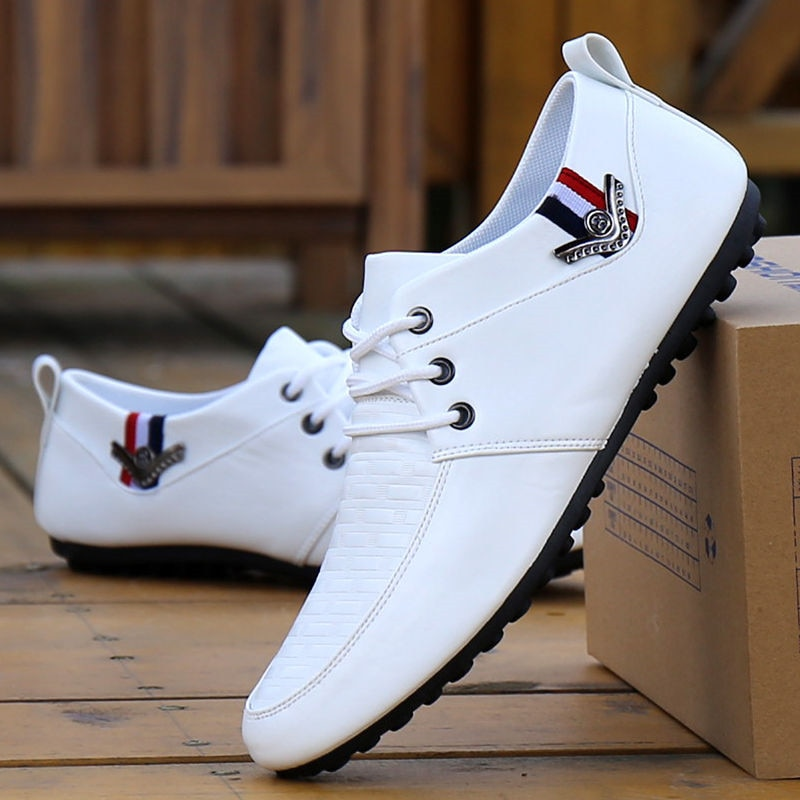 2020 Men Shoes Casual Fashion Men's Shoes Men Loafers Moccasins Slip On Men's Flats Male Driving Shoes