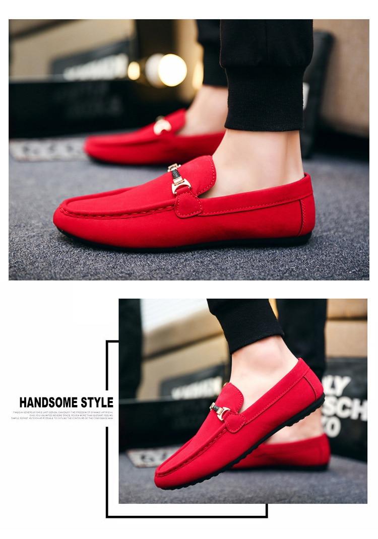 Summer Men Loafers Shoes Fashion Peas Driving Shoes Men Sneakers Flat Man Walking Footwear Big Size 38-46 Men's Casual Shoes
