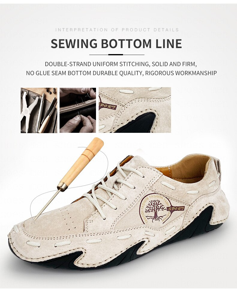 Big Size Men Casual Shoes Loafers Soft Man Leather Shoes Driving Men's Sneakers Cow Suede Leather Mocassin Spring No-slip 2020