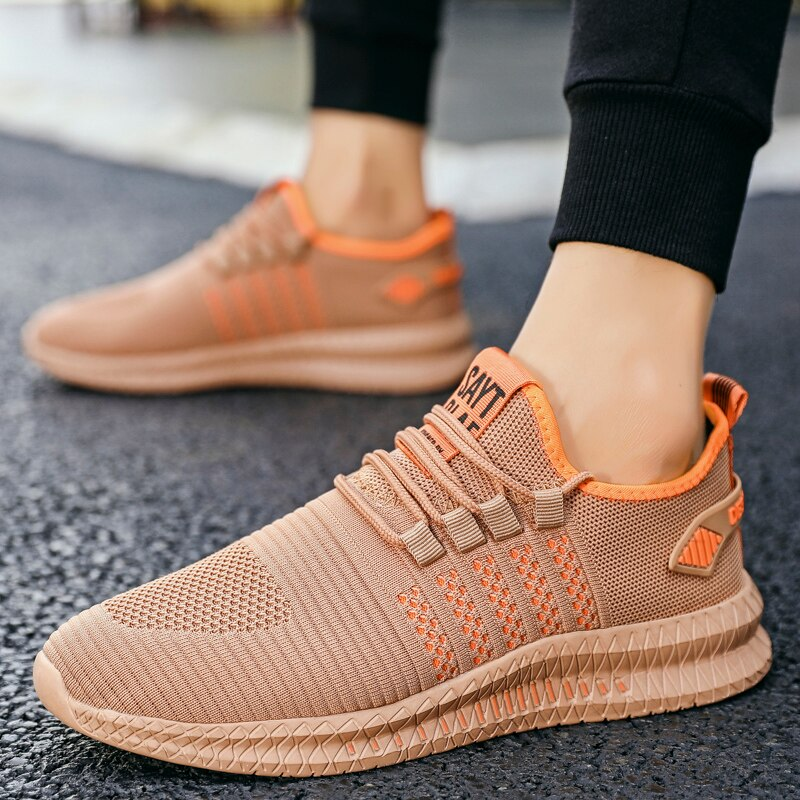 Men's Running Shoes Professional Outdoor Breathable Comfortable Fitness Shock absorption Trainer Sport Gym Sneaker 2019 Hot Sell