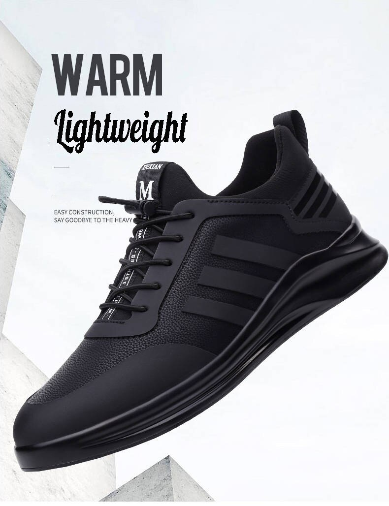 Men's Running Shoes Breathable Comfortable Casual Winter Sneakers for Men Sneakers Non-slip Wear-resisting Men Sport Shoes