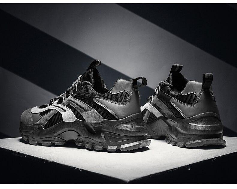 Nine o'clock Men's Jogging Sport Shoes Autumn Hot Sale Air Mesh Walking Sneakers Outdoor Breathable Light Running Male Footwear