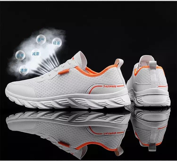 Lightweight men's shoes 2021 Running Men Sport Shoes Man Sneakers hot sale Walking shoes Zapatos De Hombre big size 39-46
