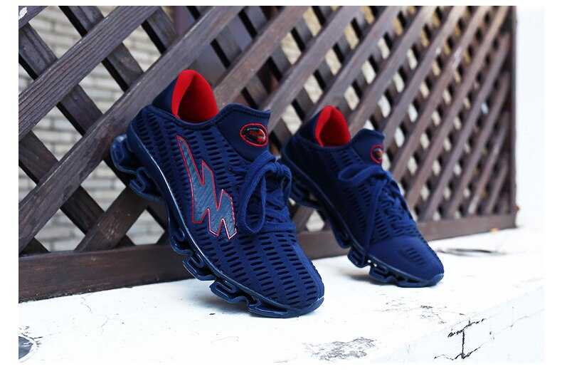 Outdoor Men's Shoes Summer Sport Shoes Men Korean Version Of The Trend Of Breathable Shoes Men's Wild Mesh Casual Running Shoes
