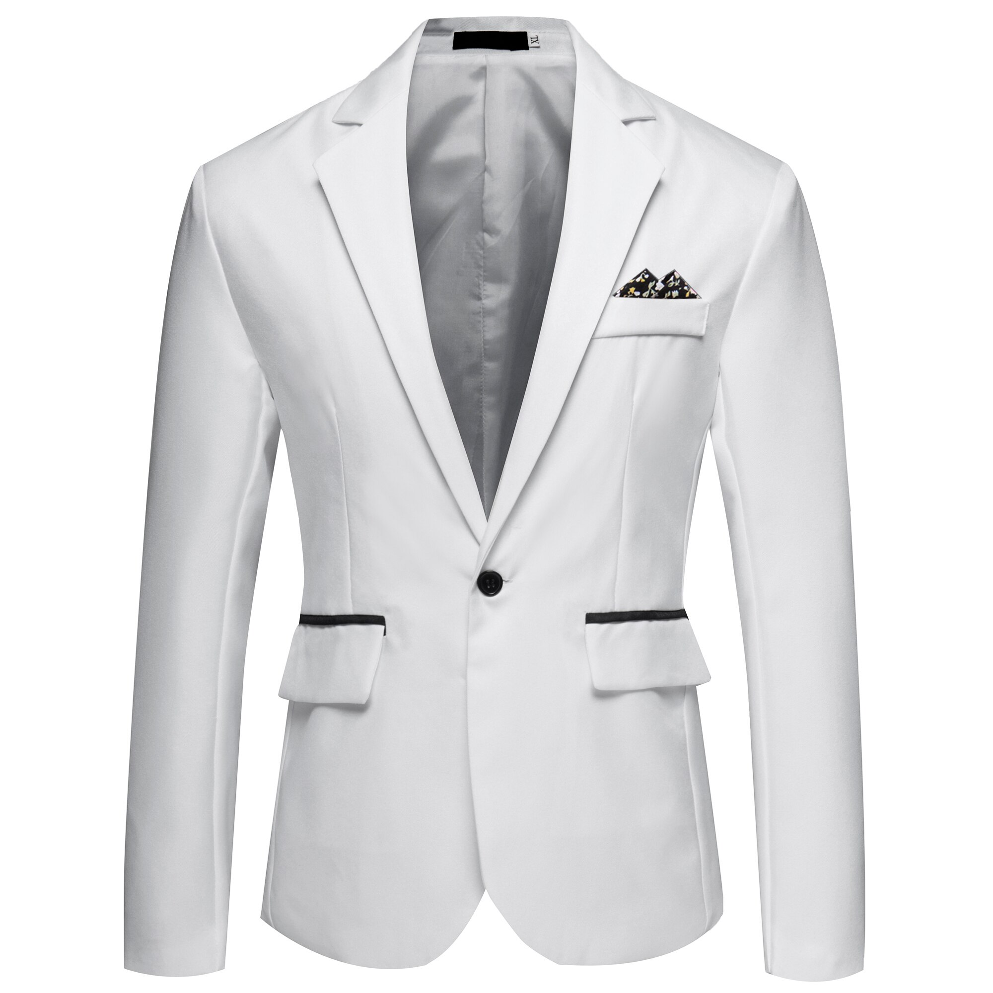 Men Leisure Suits  Apring Autumn Thin Style Suit Male  Slim Body Single Button Men's Suit Jacket