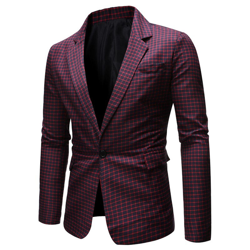 Blazer Men Casual Coat New Arrival Men's Suits for Autumn Winter 2019