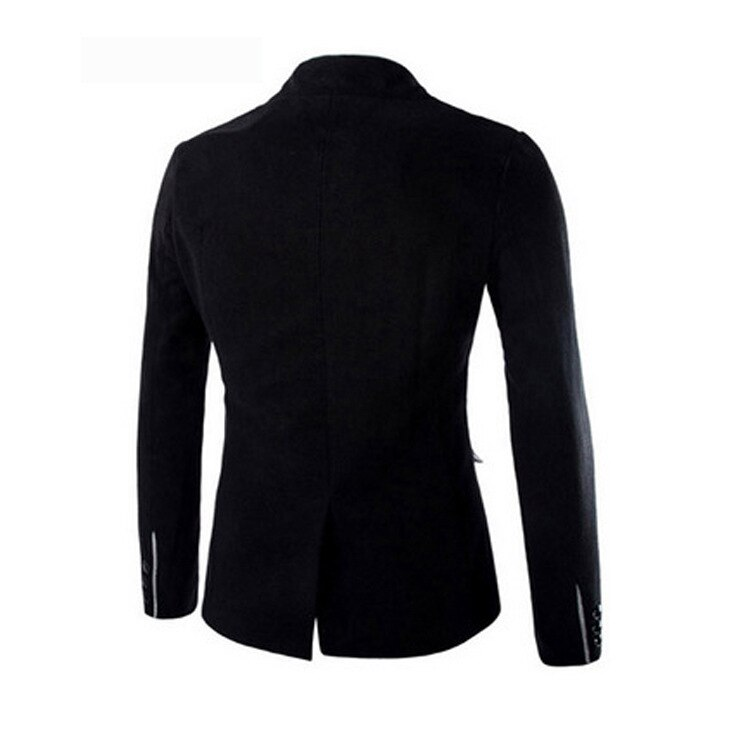 HOT 2020 autumn winter normal evening dress party casual Small suit men's suit stand Single Breasted collar leisure cloth coat