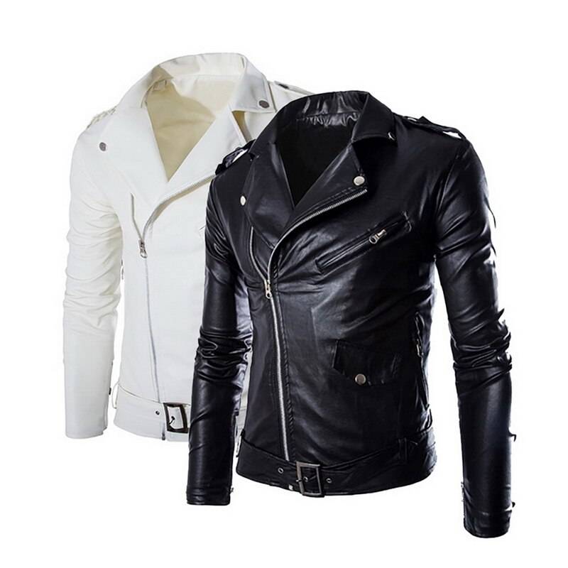 Autumn Men's PU Leather Jacket For Men Fitness Fashion Male Suede Jacket Masculino Casual Coat Male Clothing