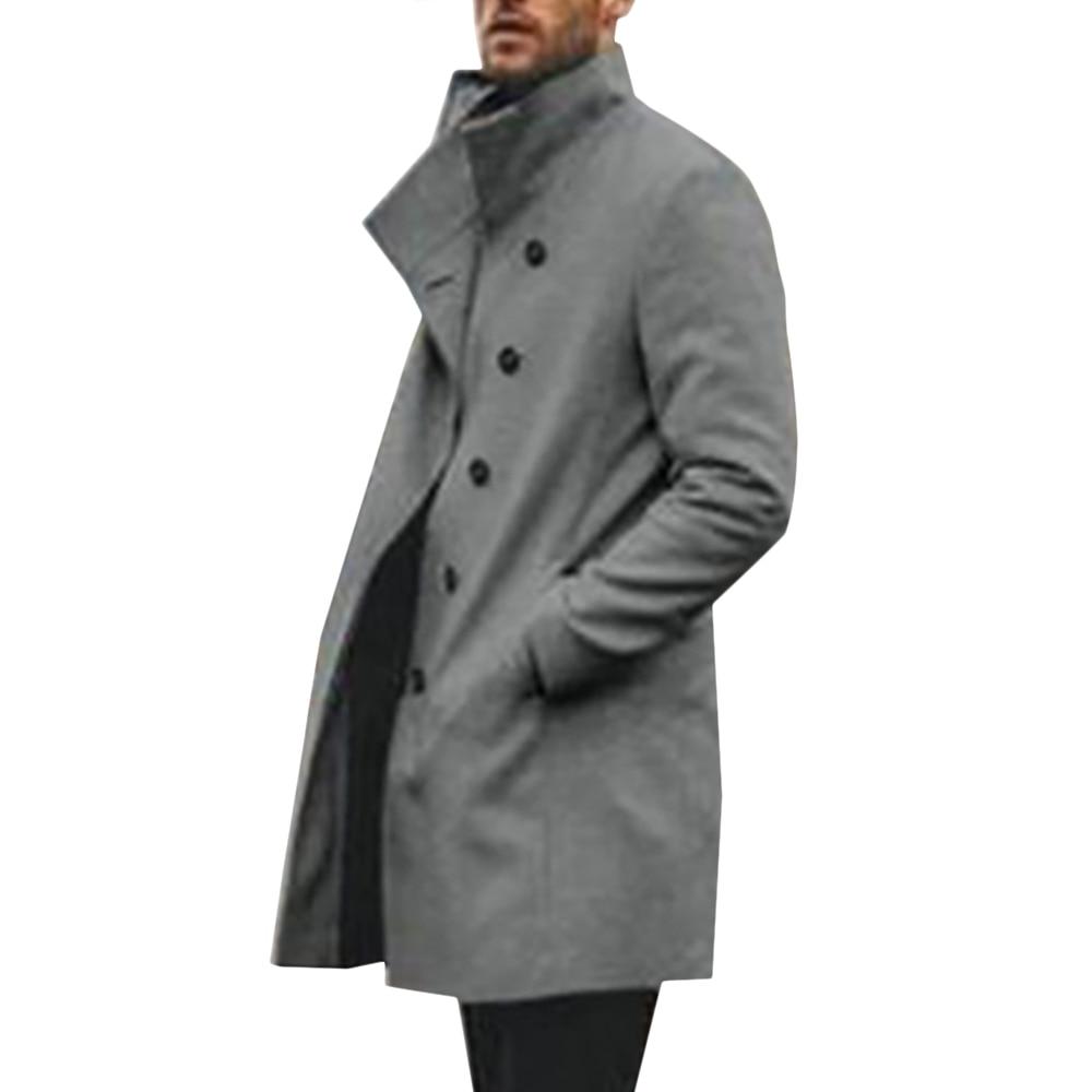Autumn Men's Jacket Coat Patchwork Long Sleeve Top Casual Sports Coat Sweatshirt Top Men Clothing Streetwear Male Coat