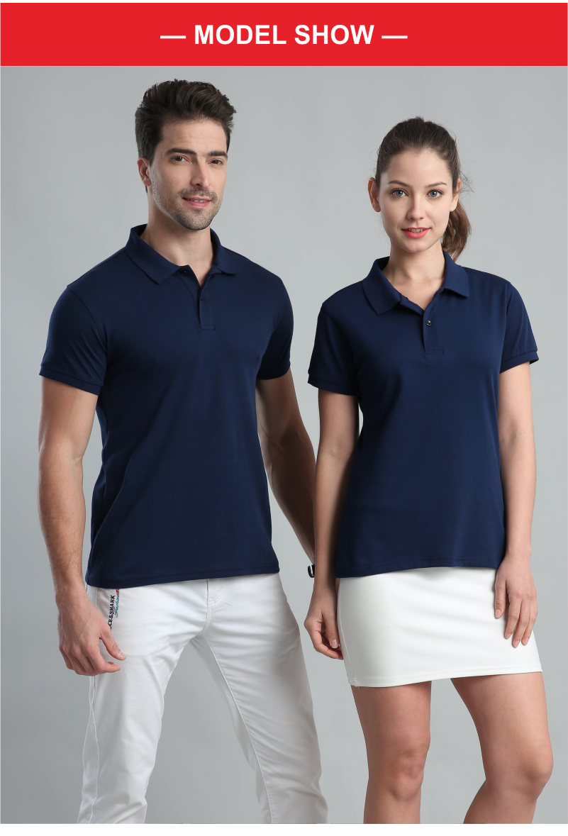 YOTEE 2020 summer cheap casual short-sleeved polo suit personal company group LOGO custom POLO shirt cotton men and women custom