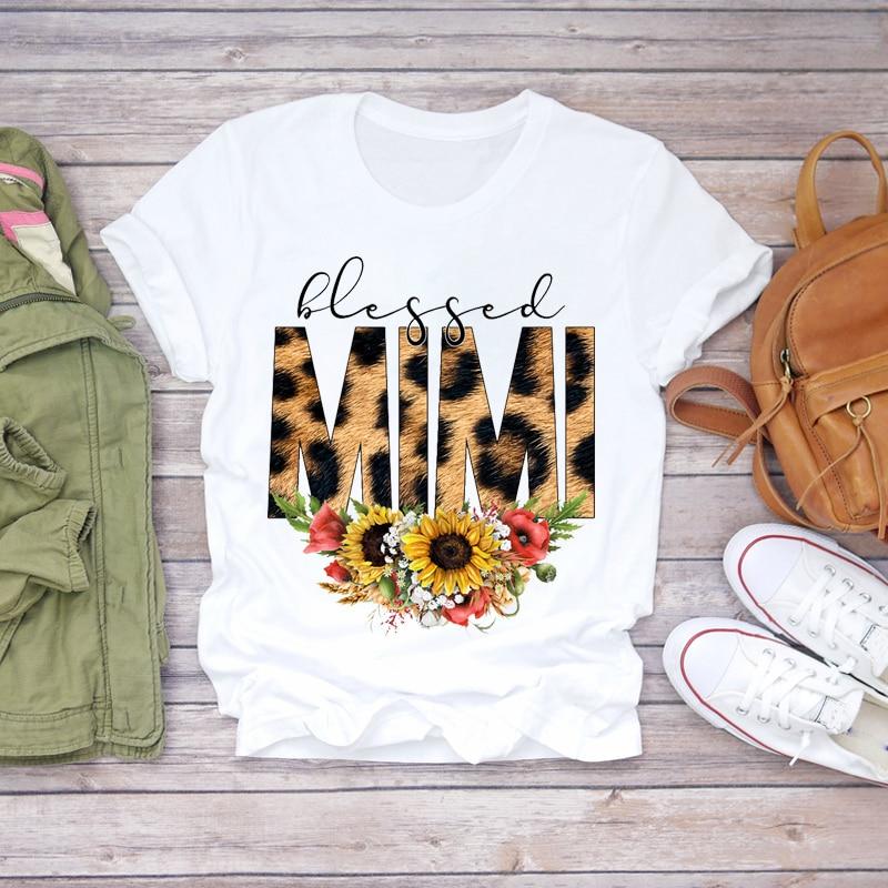 Women 2020 Cartoon Super Mom Life Momlife Summer Print Lady T-shirts Top T Shirt Ladies Womens Graphic Female Tee T-Shirt