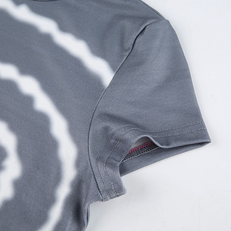Summer 2021 Print Sweat Cute Y2K T-shirt Women Fashion Short Sleeve Tee Shirt Femme Casual Basic T Shirt Streetwear Sexy Tops