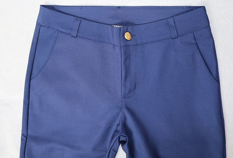 Women Pencil Pants 2019 Autumn High Waist Ladies Office Trousers Casual Female Slim Bodycon Pants Elastic Pantalones Mujer
