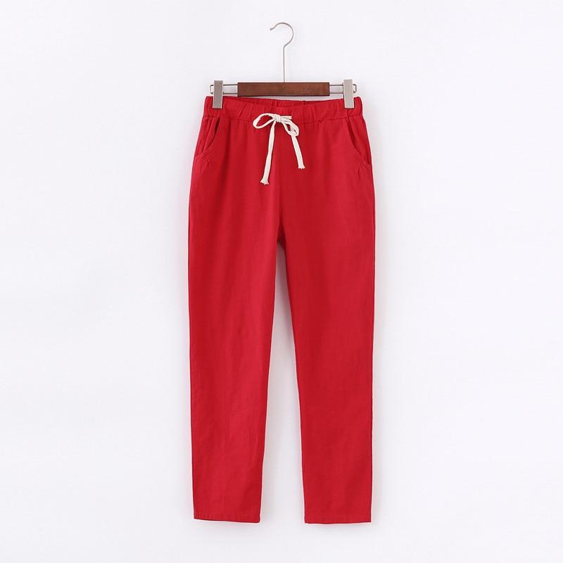 Cargo/baggy Pants Women Summer Women's Pants Linen Sweatpants Casual Harem Sports Pants For Women Trousers